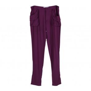 (X)SML Purple Pencil Cotton Pants