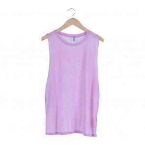 H&M Purple Sleeveless