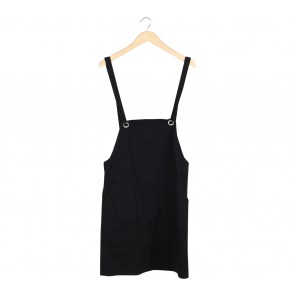 Schmiley Mo Black Mini Dress