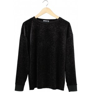 Zara Black Glitter Sweater
