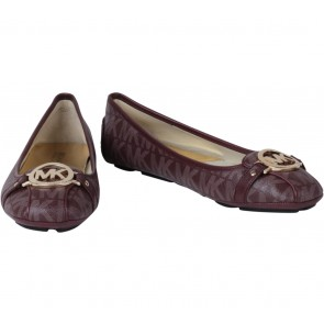 Michael Kors Purple Patterned Flats