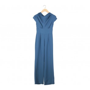 Jil by Stella J Blue Jumpsuit