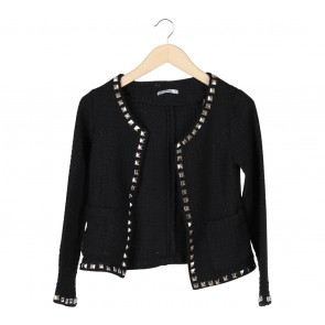 Blook Black Studded Blazer