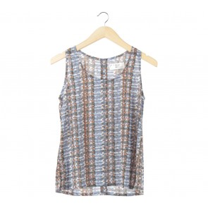 (X)SML Multi Colour Patterned Sleeveless