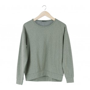 Topshop Dark Green Sweater