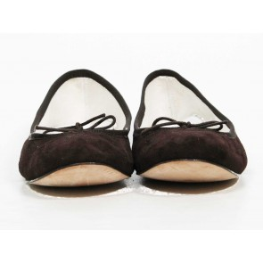 Repetto Brown Classic Ballerina Flats