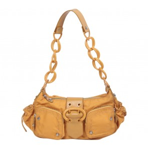 Francesco Biasia Orange Shoulder Bag