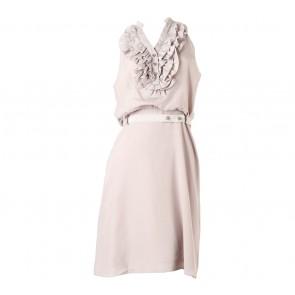 Karen Millen Cream Midi Dress