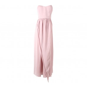 Love Affair Pink Tube Midi Dress