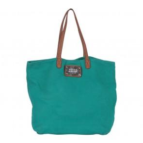 Mango Green Canvas Tote Bag