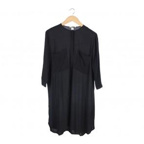 H&M Black Tunic Blouse