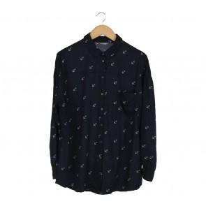 Marks & Spencer Dark Blue Shirt