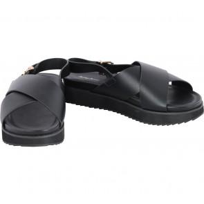 Something Borrowed Black Sandals
