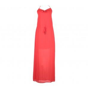 Forever 21 Red Halter Long Dress
