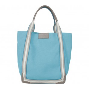 Anya Hindmarch Blue Pont Tote Shoulder Bag
