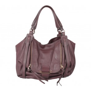 Kooba Purple Jonnie Shoulder Bag