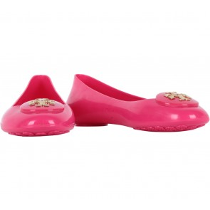 Tory Burch Pink Jelly Flats