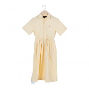 Ralph Lauren Yellow Midi Dress