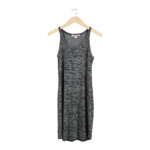 Forever 21 Grey And Black Mini Dress