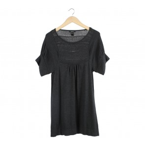 Mango Dark Grey Mini Dress