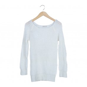 Suite Blanco White Knit Sweater