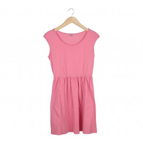 UNIQLO Pink Sleeveless Mini Dress
