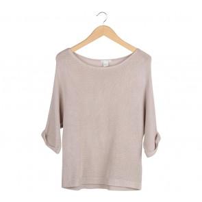 H&M Cream Sweater