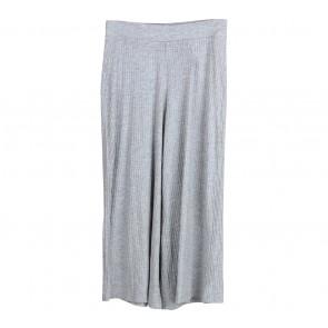 Stradivarius Grey Cullote Pants