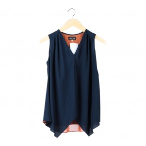Milcah Dark Blue Sleeveless