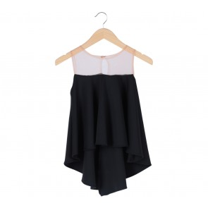 Chic Simple   Black Sleeveless