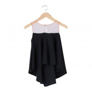 Chic Simple   Black Sleeveless
