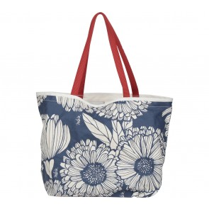 Tulisan Blue And White Floral Tote Bag