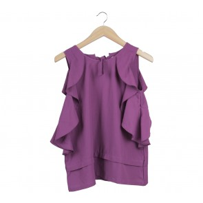 Cotton Ink Purple Sleeveless