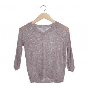 UNIQLO Brown Net Sweater