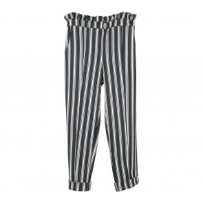 Label Eight Black And White Striped Pants
