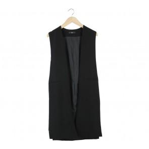 Lilac Black Vest