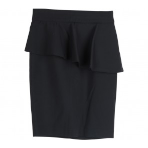 Zara Black Peplum Skirt