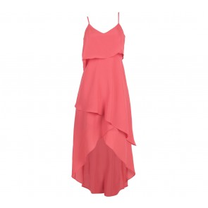 BCBG Pink Sleveless Midi Dress