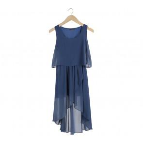 Cavalier Blue Sleeveless Midi Dress