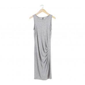 Cotton On Grey Sleeveless Midi Dress