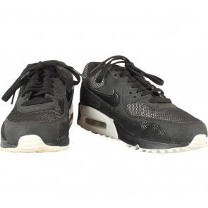 Nike Black Air Max 90 Premium Running Sneakers