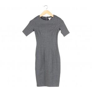 H&M Grey Midi Dress