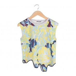 Zara Multi Colour Printed Sleeveless