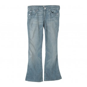 7 For All Mankind Blue Denim Pants