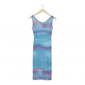 Cavalier Blue Sleeveless Long Dress