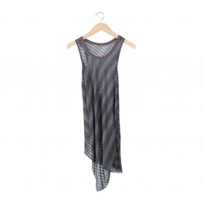 Free People Grey Sleeveless