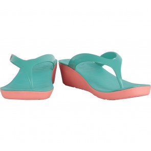 Hush Puppies Green Sandals