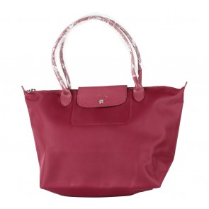 Longchamp Maroon Le Pliage Neo Large Tote Bag
