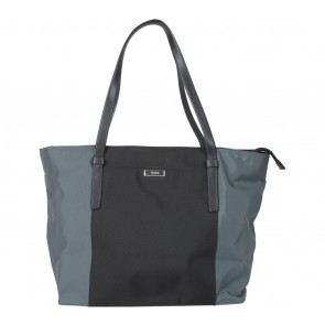 Tumi Black And Blue Tote Bag
