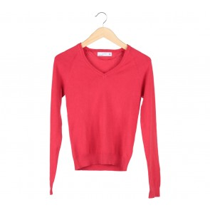 Zara Red Sweater